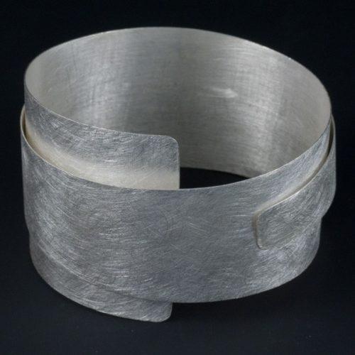 Large Flexible Brushed Bracelet