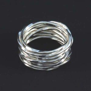 Knott Silver Ring