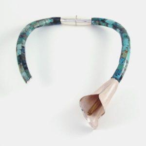 Turquoise Flower Bracelet