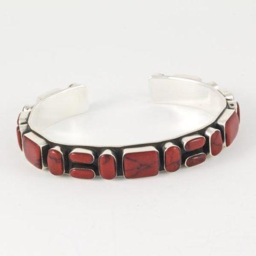 Elegant Coral Bracelet