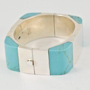 Turquoise Square Bracelet