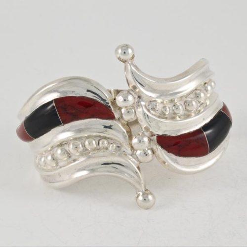 Coral & Onix Art Bracelet