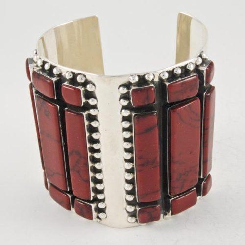 Coral Bars Bracelet