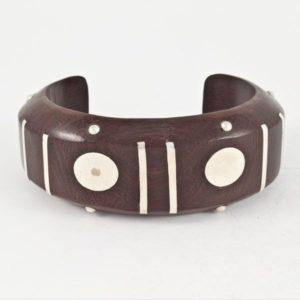 Wooden Thick Bracelet