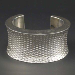 Textured Concave Bracelet