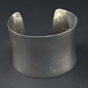 Tarnish Concave Bracelet