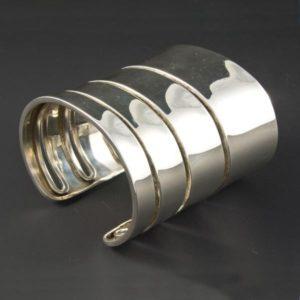 Large Plain Bracelet