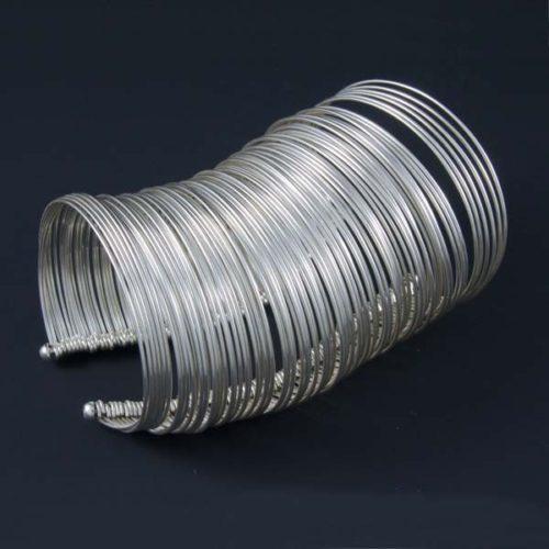 Multiple Rings Plain Bracelet