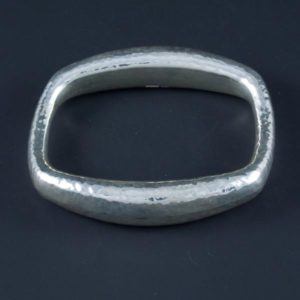 Square Hammered Bracelet