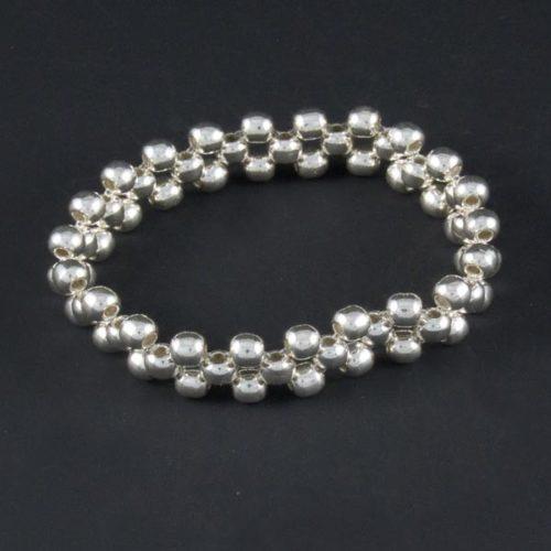 Silver Marbles Bracelet
