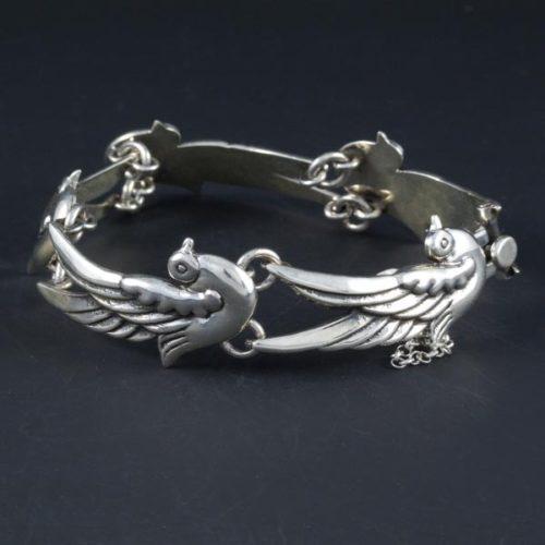 5 Birds Plain Bracelet