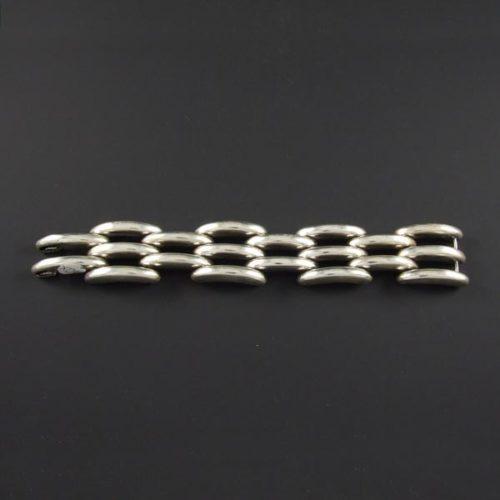 Linked Bars Plain Bracelet