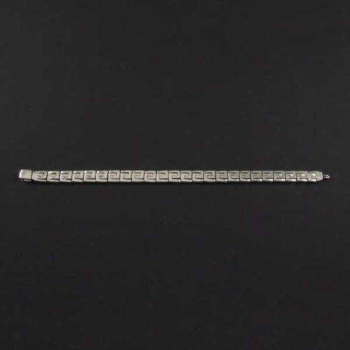 Linked Squares Bracelet