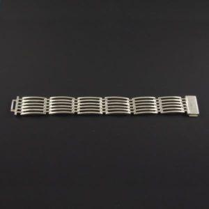 Lined Squares Bracelet