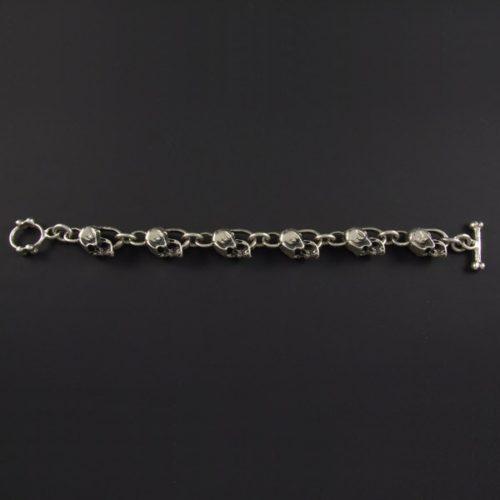 Skulls Chain Bracelet