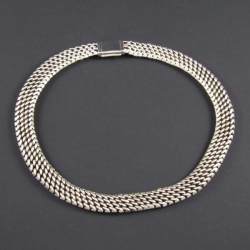 Circular Plain Necklace