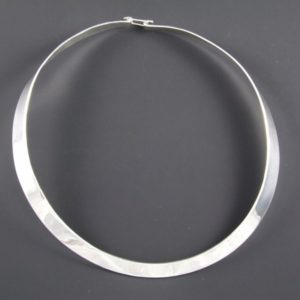 Flat Plain Necklace