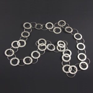 Linked Fine Rings Necklace