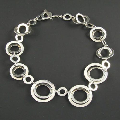 Circles Plain Necklace