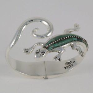 Malaquite Lizard Bracelet