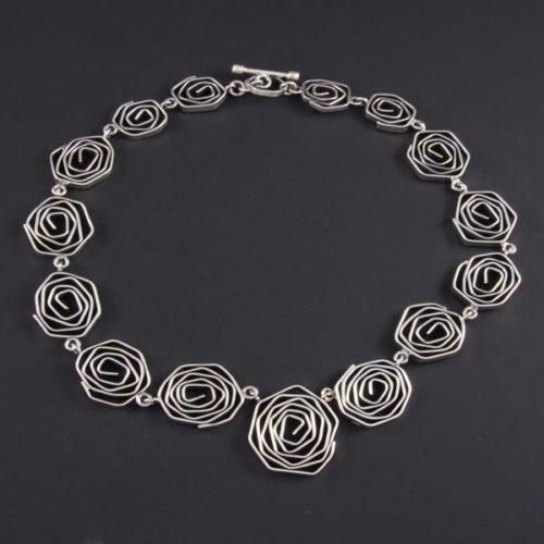 Spirals Plain Necklace
