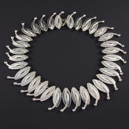 Silver Plain Necklace