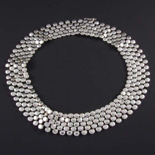 Mini Circles Plain Necklace