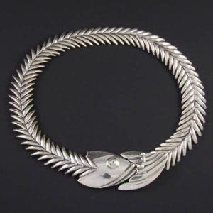 Fishbone Plain Necklace