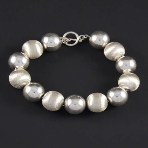 Silver Balls Bracelet