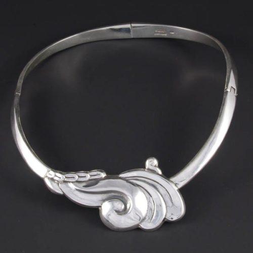 Silver Plain Necklace