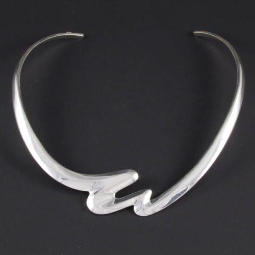 Polish Silver Necklace