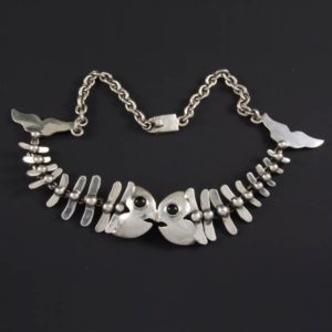 2 Fishbones Necklace