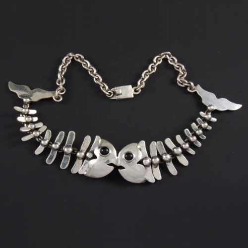 2 Fishbones Necklace