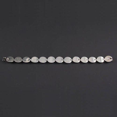 Flat Polish Circles Bracelet