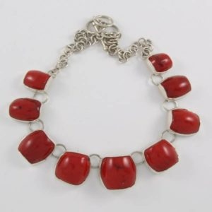 Coral Stone Necklace