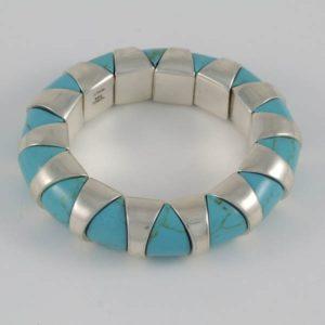 Turquoise Circular Bracelet