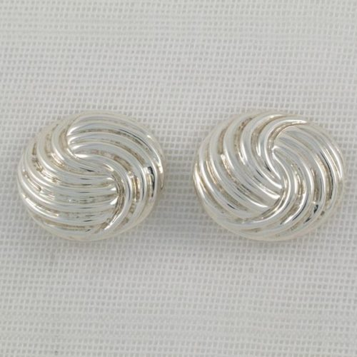 Round Plain Earrings