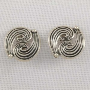 Silver Plain Earrings