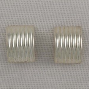 Lined Convex Earrings