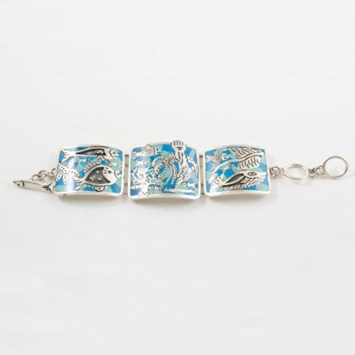 Sea Art Stone Bracelet