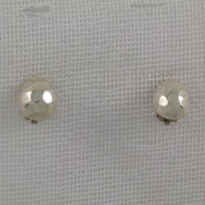 Simple Hammered Earrings