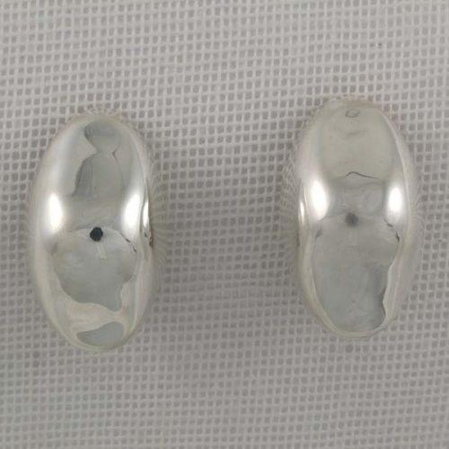 Oval Plain Earrings