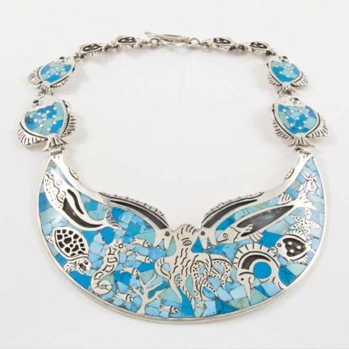 Sea Art Stone Necklace