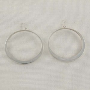 Flat Silver Rings
