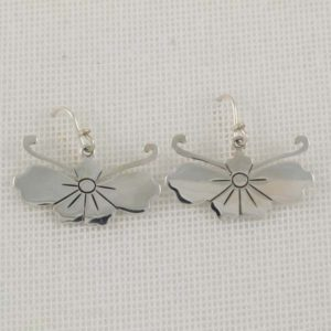 Flower Plain Earrings