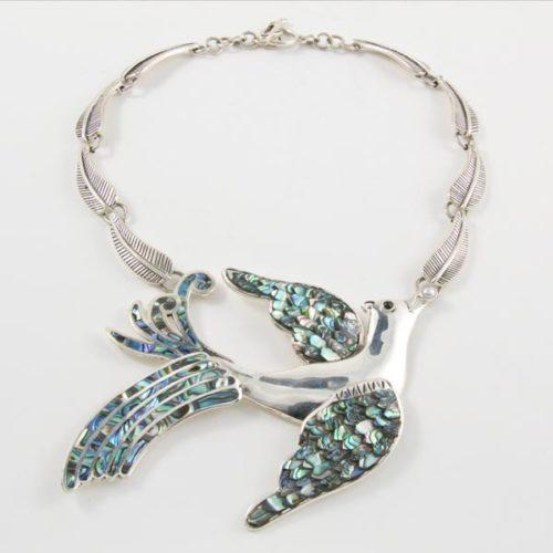 Stone Bird Necklace