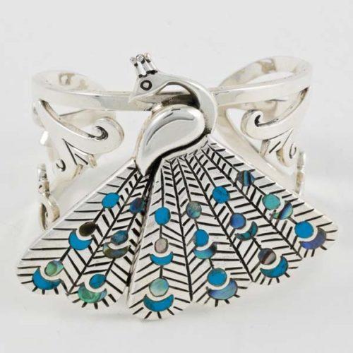 Peacock Stoned Bracelet