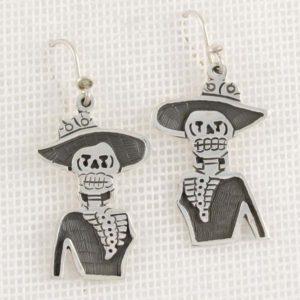 Skeleton Plain Earrings
