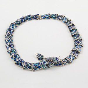 Dark Blue Snake