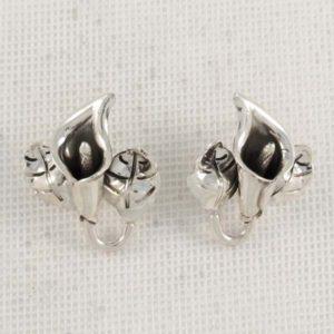 Flower Plain Earrings